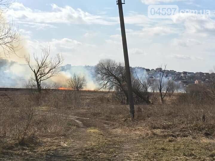 За вихідні в Приірпінні вигоріло майже 6 га сухої трави, фото-2