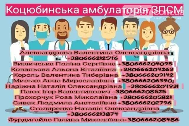 Контактні телефони сімейних лікарів Ірпінського регіону, фото-5