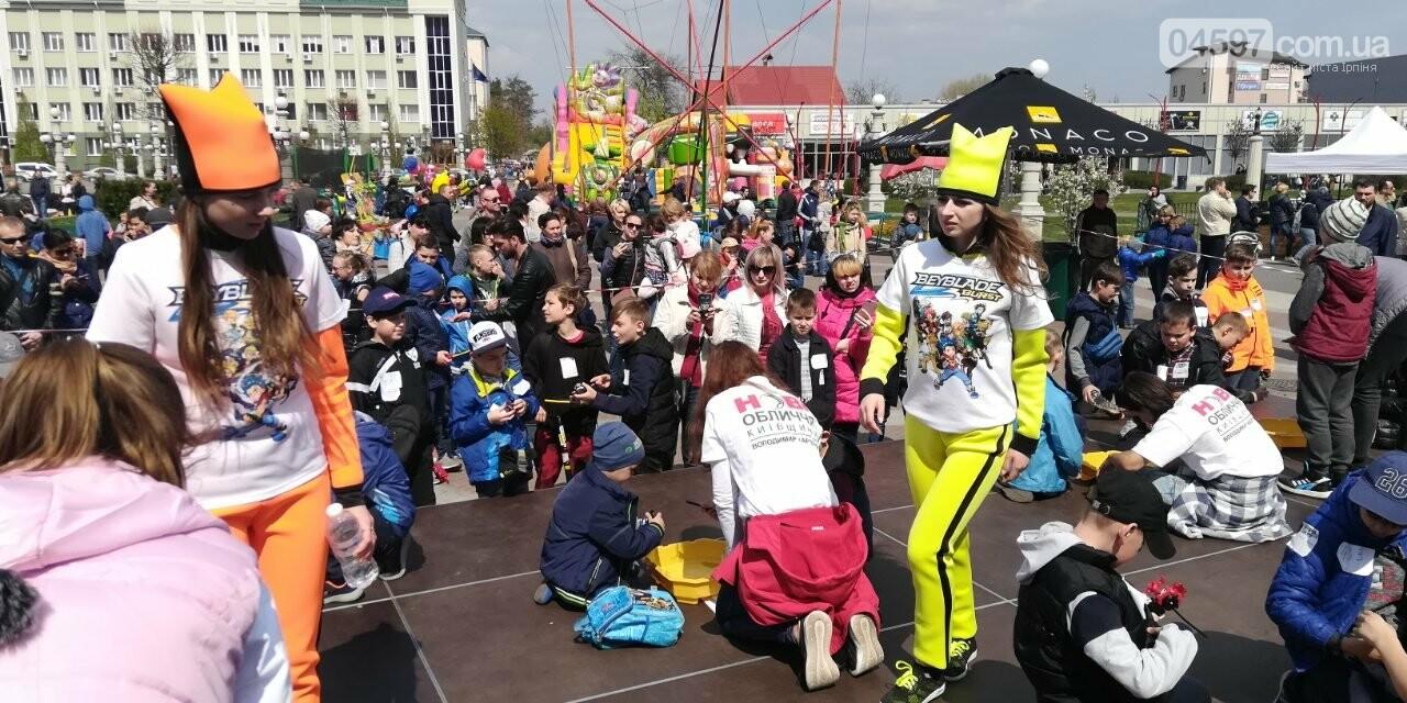 Сьогодні на Центральній площі Ірпеня - веселі розваги для дітей і дорослих, фото-4