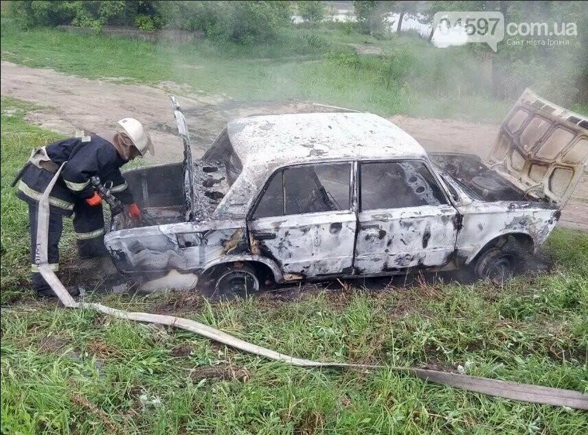 У Бучі згорів автомобіль, фото-2
