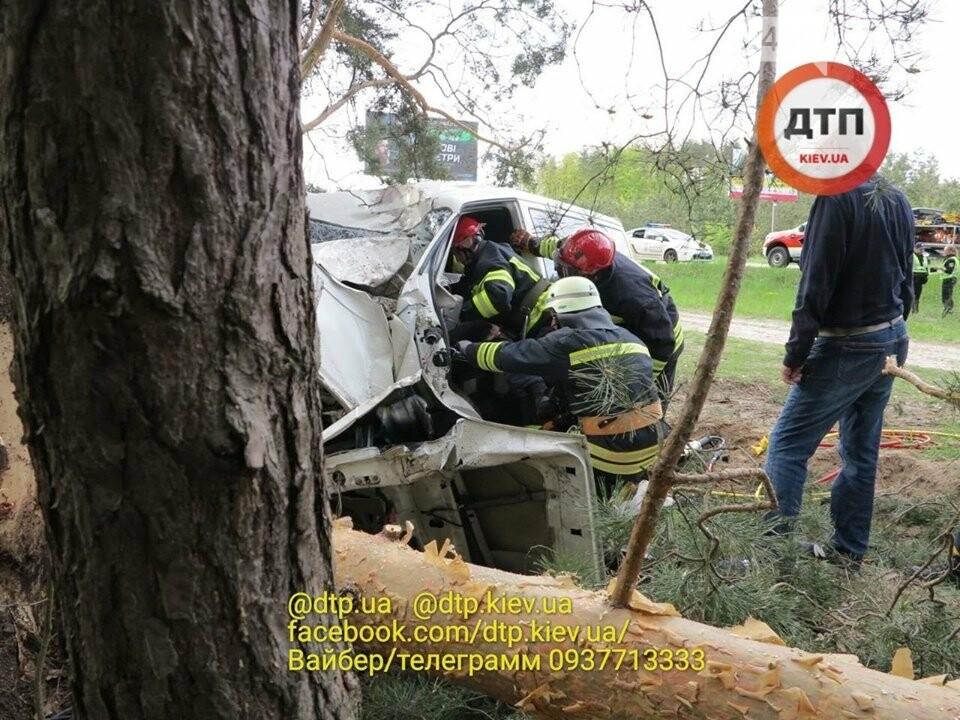 Жахлива аварія сталася на Новоірпінській трасі через непристібнутий ремінь, фото-1