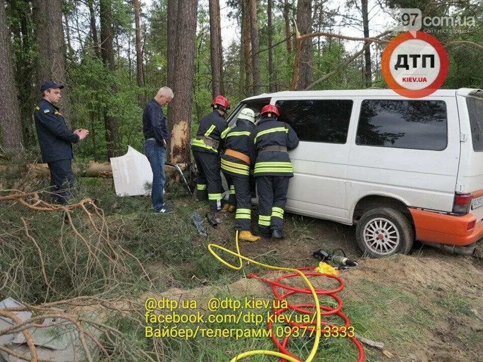 Жахлива аварія сталася на Новоірпінській трасі через непристібнутий ремінь, фото-2