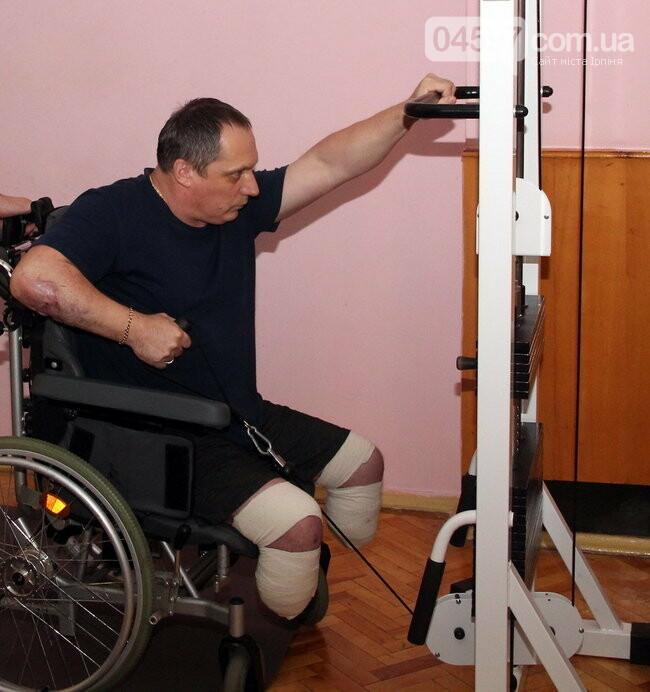 Військовий госпіталь Ірпеня отримав медичне реабілітаційне обладнання, фото-3