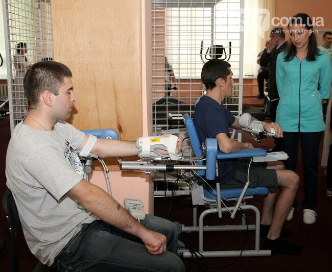 Військовий госпіталь Ірпеня отримав медичне реабілітаційне обладнання, фото-2