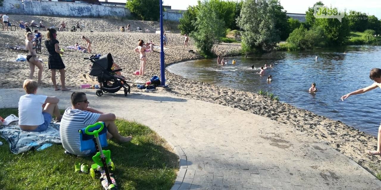 """Літо в Ірпені: на набережній купальний """"бум"""", фото-4"""