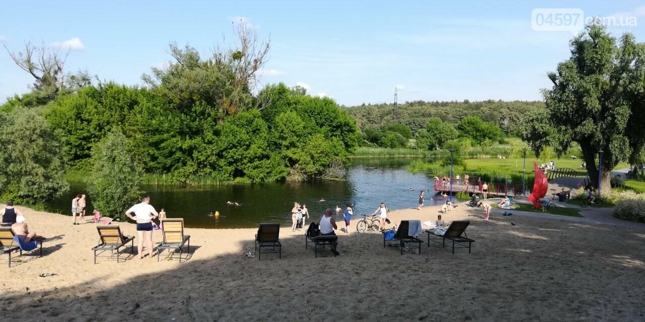 """Літо в Ірпені: на набережній купальний """"бум"""", фото-1"""