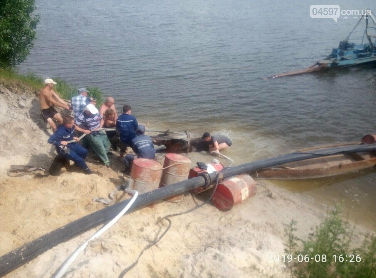 В Бучанському озері врятували коня , фото-2