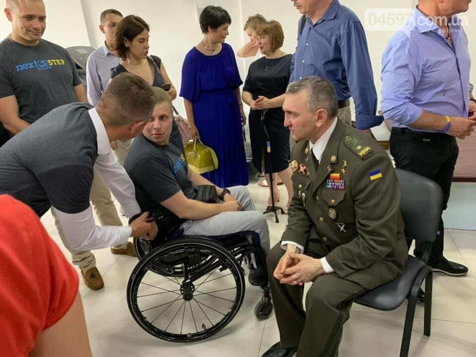 В Ірпені відкрили реабілітаційний центр Next Step Ukraine для важкопоранених бійців, фото-3