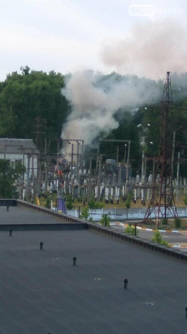В Бучі вибухнув трансформатор, фото-1