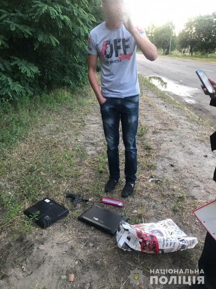 У Гостомелі по гарячих слідах затримали крадіїв, фото-1
