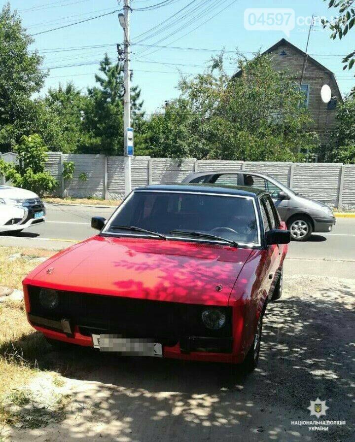 В центрі Ірпеня затримали авто з підробними документами, фото-1
