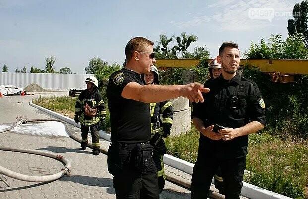 «Муніципальна варта» взяла участь у навчаннях з цивільного захисту, фото-7