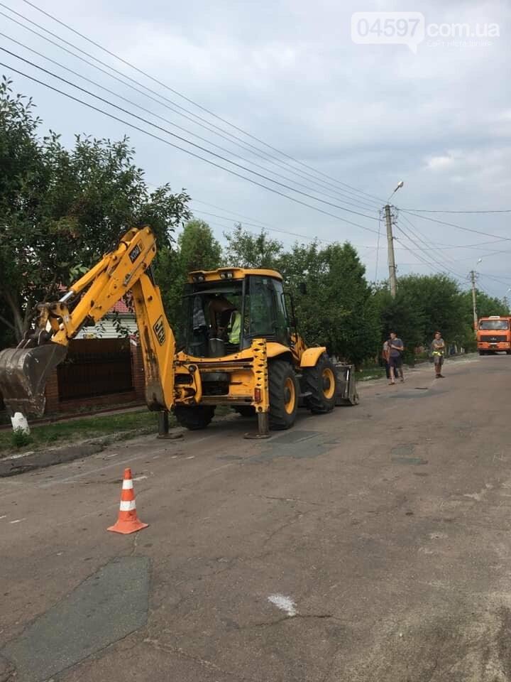 Вулиці Гостомеля будуть оснащені новими тротуарами, фото-6