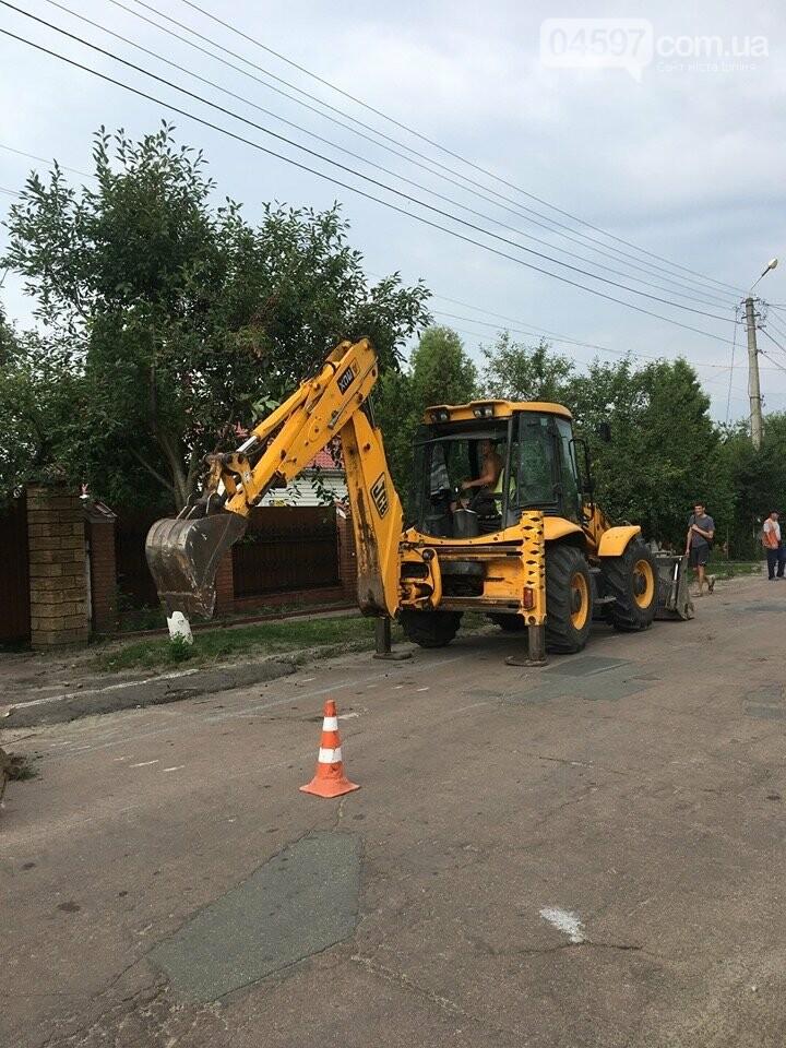 Вулиці Гостомеля будуть оснащені новими тротуарами, фото-1