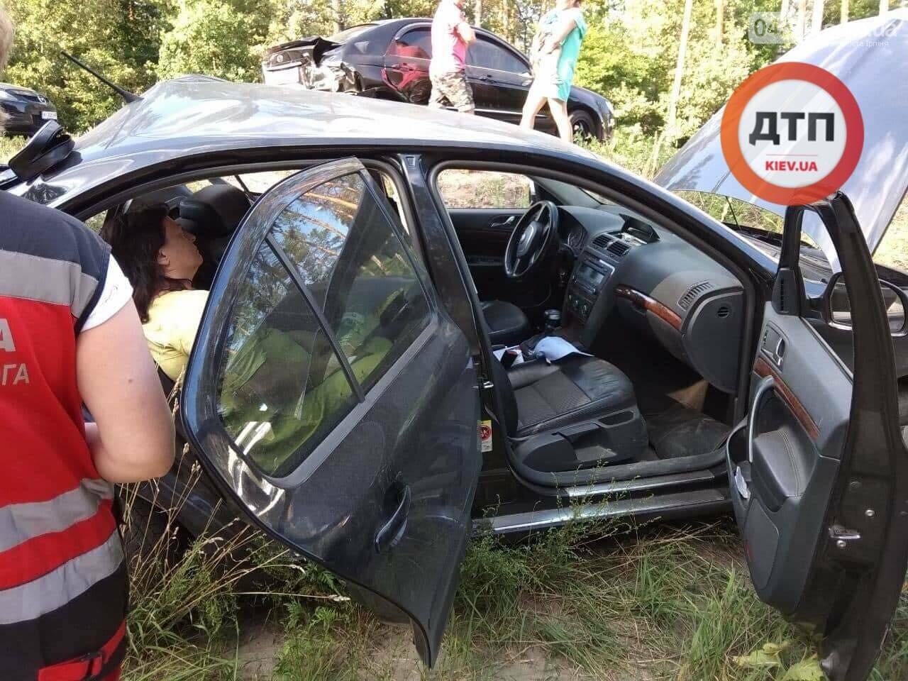 Серйозна ДТП на Новоірпінській трасі: двоє людей постраждало , фото-4
