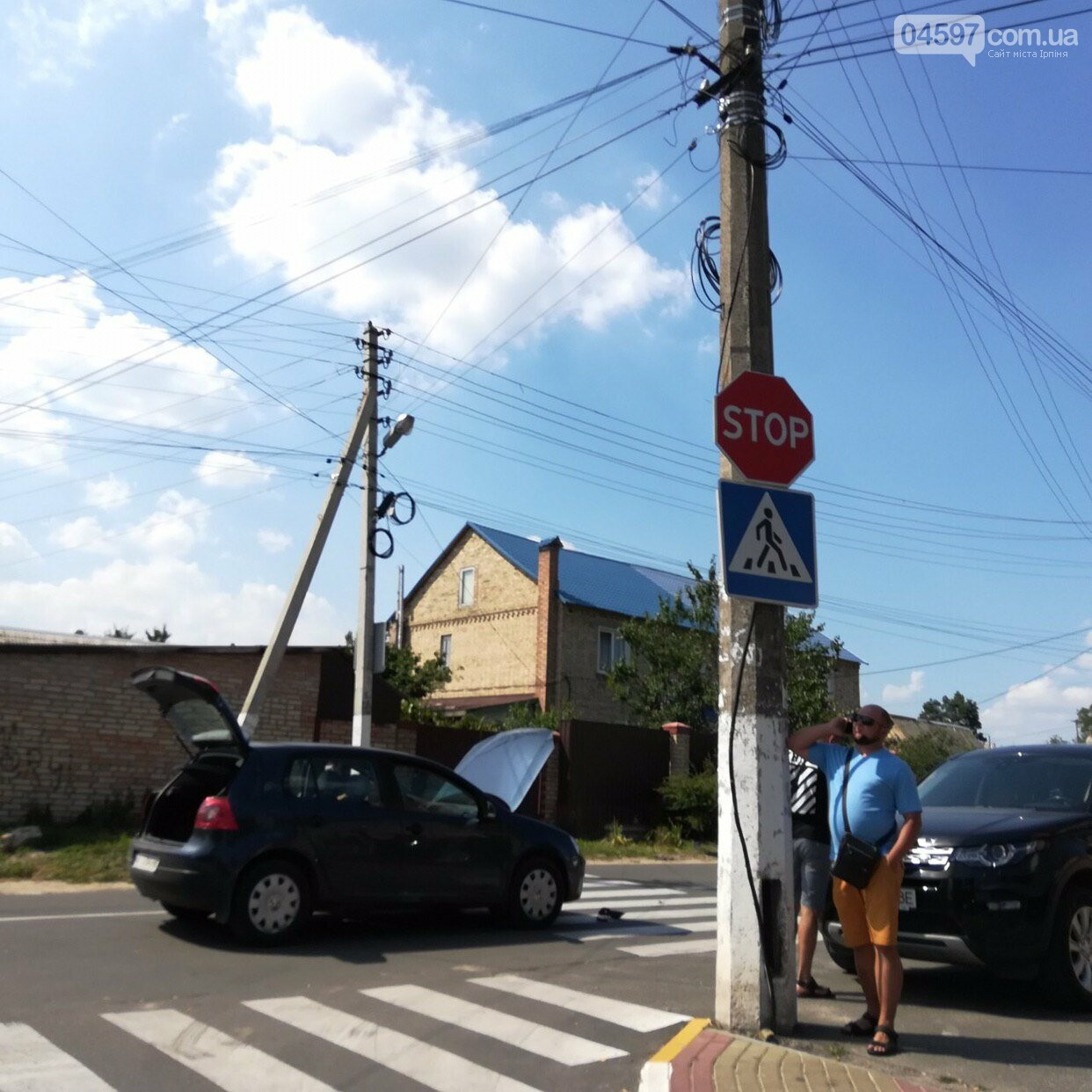 Чергове ДТП на перетині вул. Громадянської та Озерної, фото-1