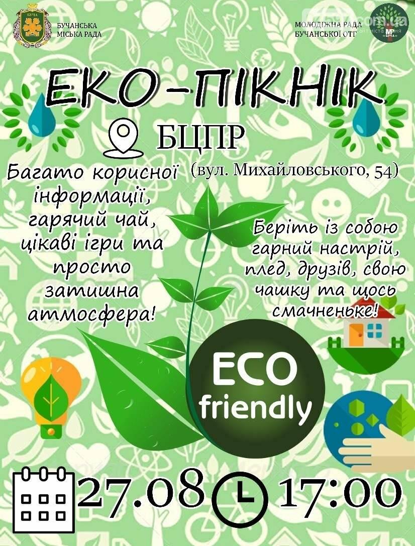 Завтра в Бучі відбудеться еко-пікнік, фото-1