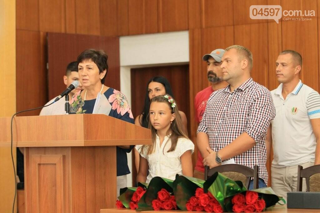 В Ірпені родина загиблого на Донбасі офіцера отримала квартиру, фото-2