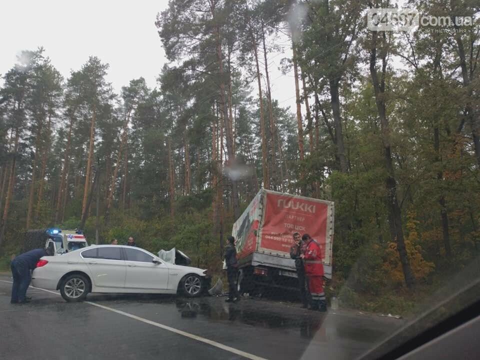 Сьогодні зранку в Ірпені вже дві ДТП, фото-2