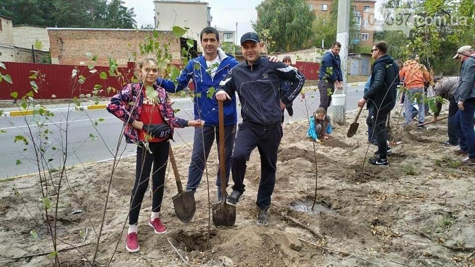 """В Ірпені пройшла акція """"Посади дерево"""", фото-1"""