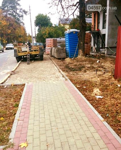 Хто і навіщо розібрав тротуарну плитку в Ірпені?, фото-2