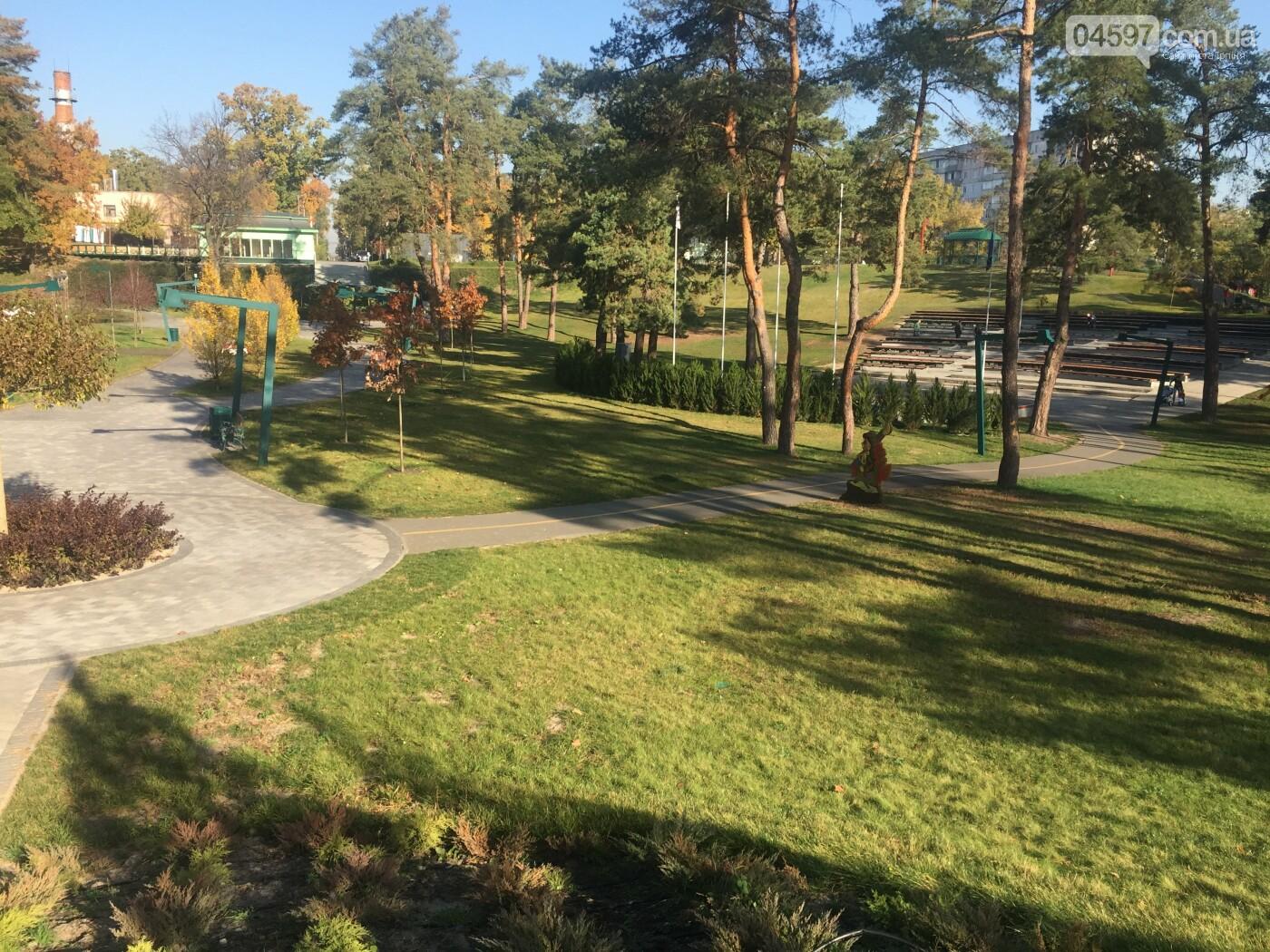 Осінь в Ірпені: ранок у парку Незнайка, фото-1
