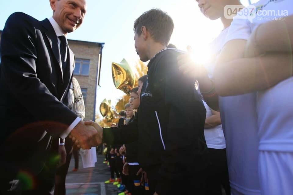 """В Ірпені відкрили першу соціально-спортивну школу Фонду """"Реал Мадрид"""", фото-6"""