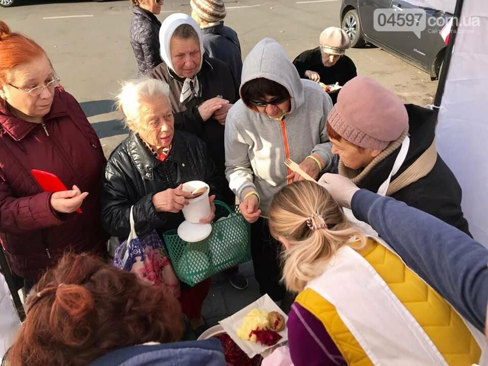 """""""Нова порція"""" безкоштовних обідів для пенсіонерів в Ірпені, фото-8"""