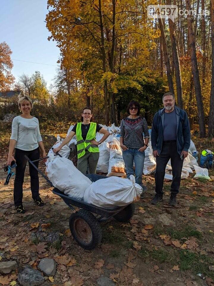 Ірпінчани рятують ліс: вивезли понад 100 мішків сміття, фото-5