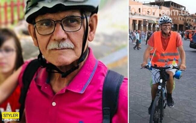 Телеканал СТБ розшукує ірпінчанина, який доїхав на велосипеді до Африки, фото-1