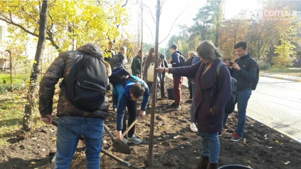 Школярі приєднались до ініціативи озеленення Ірпеня, фото-5