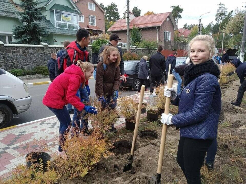 Школярі приєднались до ініціативи озеленення Ірпеня, фото-1