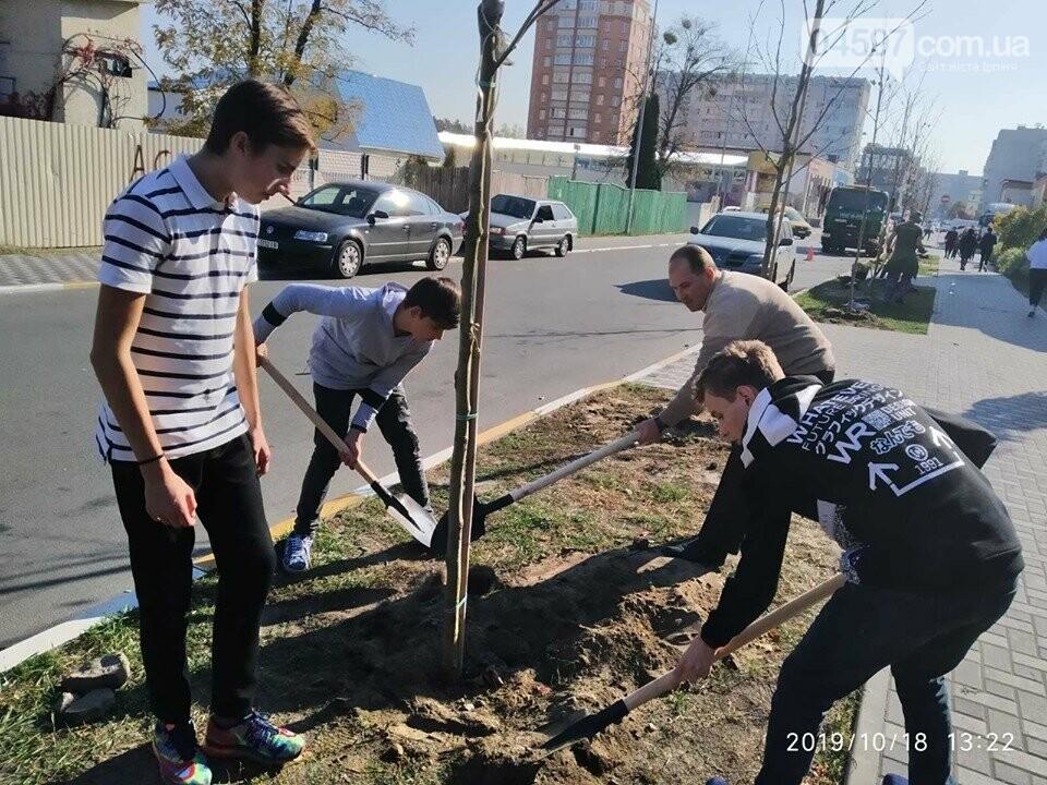 Школярі приєднались до ініціативи озеленення Ірпеня, фото-3