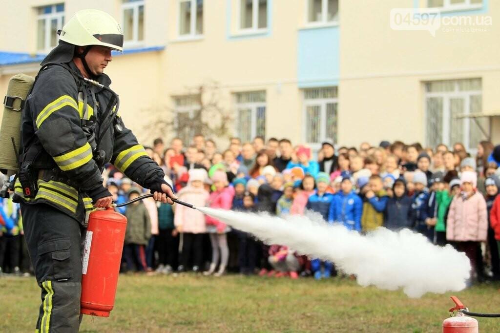 В ірпінській школі провели пожежні навчання , фото-2