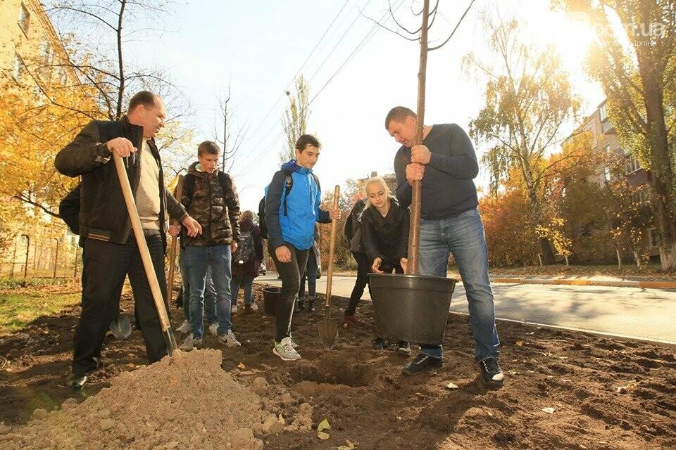 Школярі приєднались до ініціативи озеленення Ірпеня, фото-4