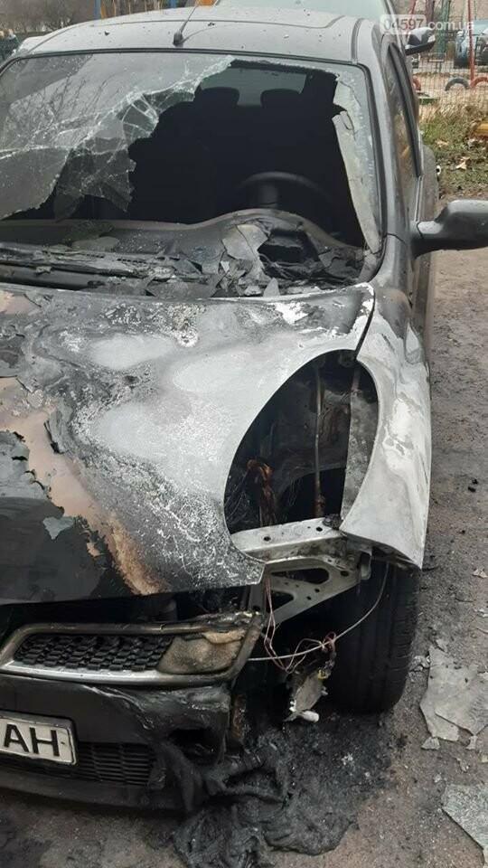 У Коцюбинському горіла автівка, фото-2
