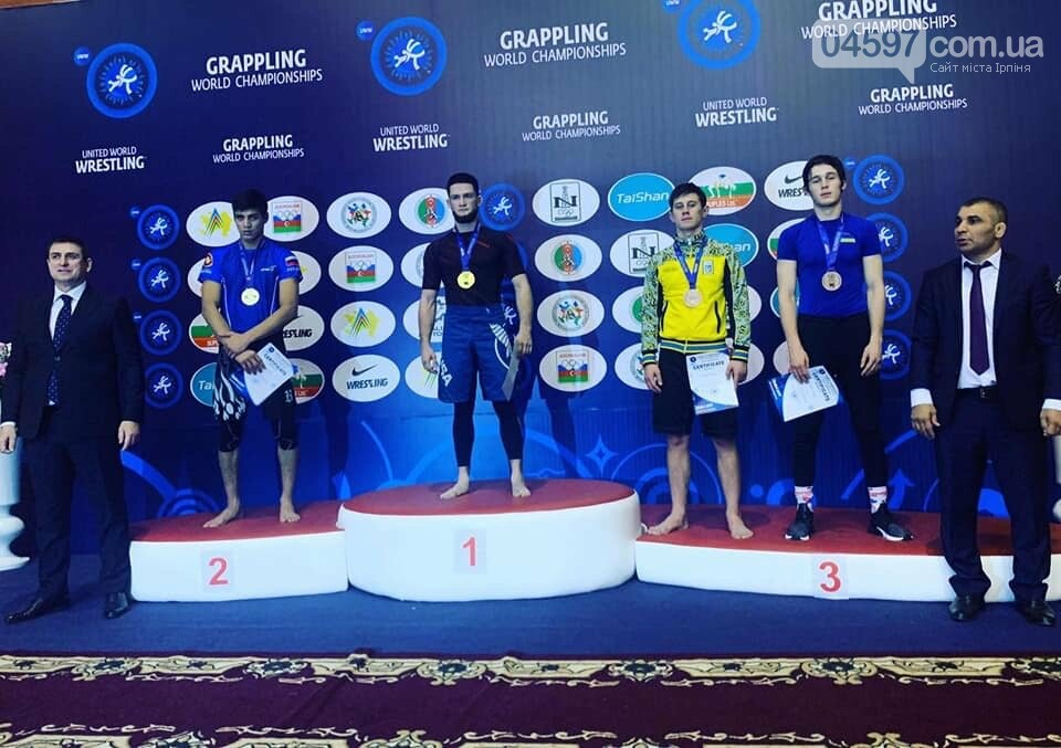 Ірпінчанин привіз бронзу з Чемпіонату світу з грепплінгу, фото-2