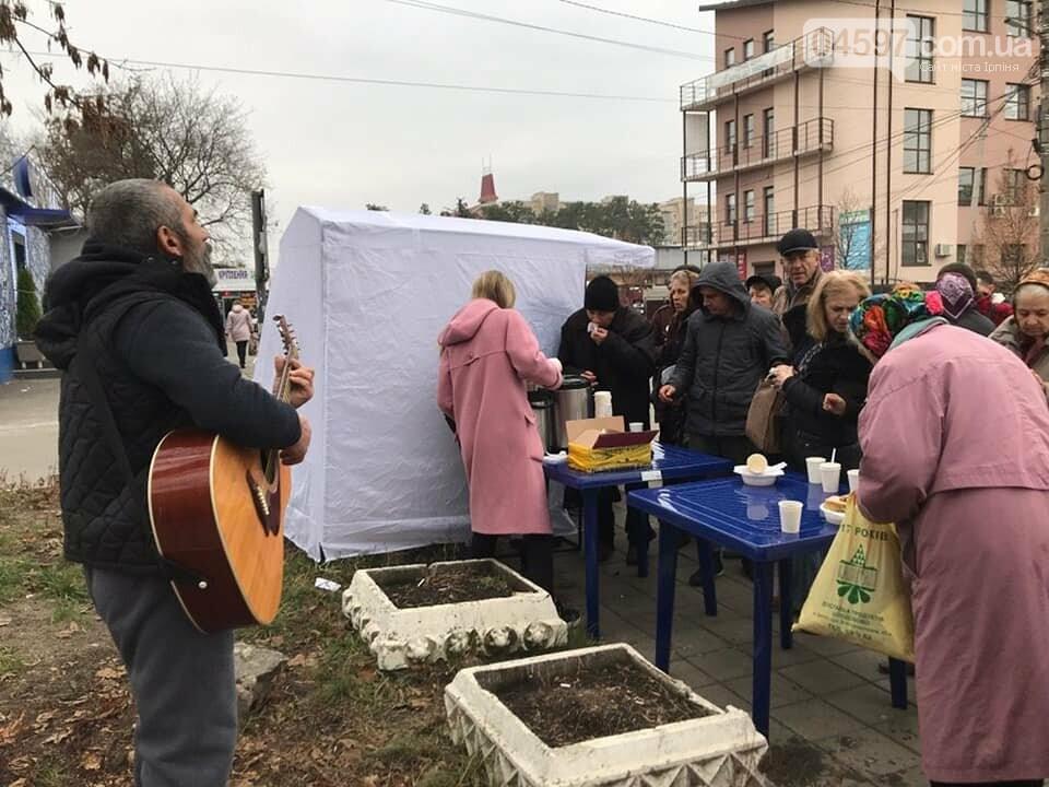 В Ірпені продовжують безкоштовно годувати пенсіонерів, фото-2