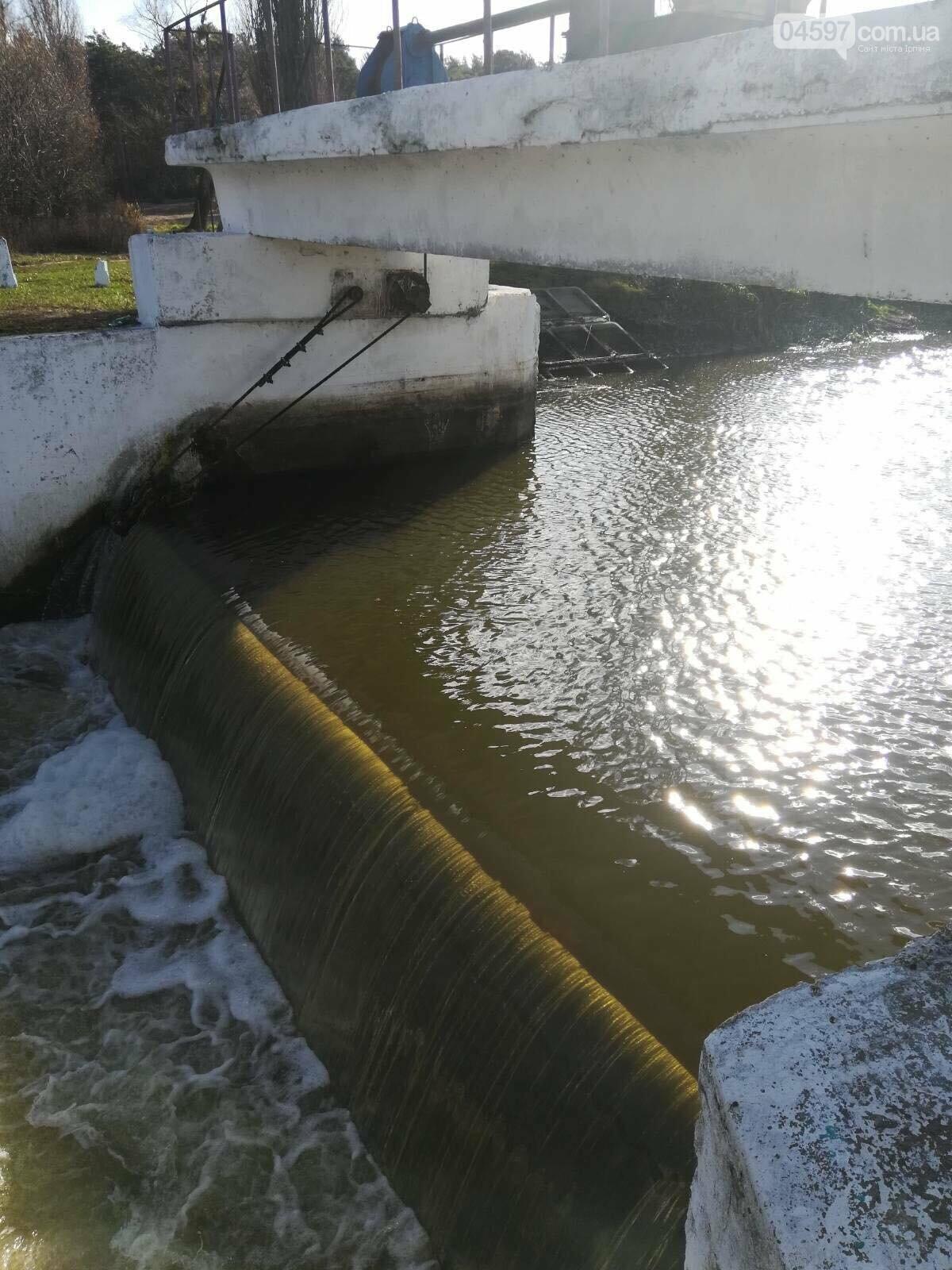 Куди зникла вода з річки Ірпінь? – офіційна інформація, фото-2