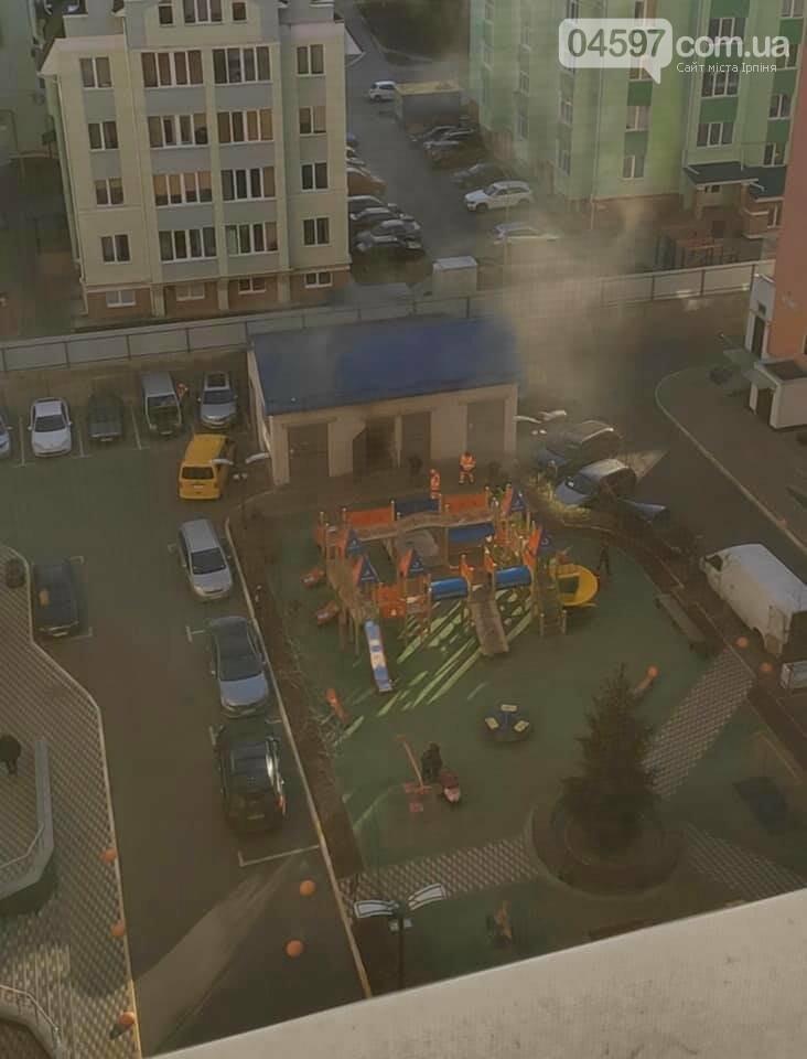 На Синергії вибухнув трансформатор: район без світла, фото-1