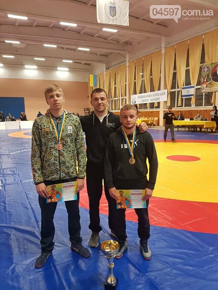 Ірпінчани взяли золото і бронзу на Всеукраїнському чемпіонаті з вільної боротьби, фото-1
