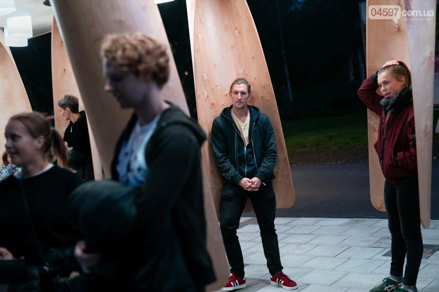 Ірпінчани теж хочуть: у Швеції з'явилась тепла зупинка, фото-3
