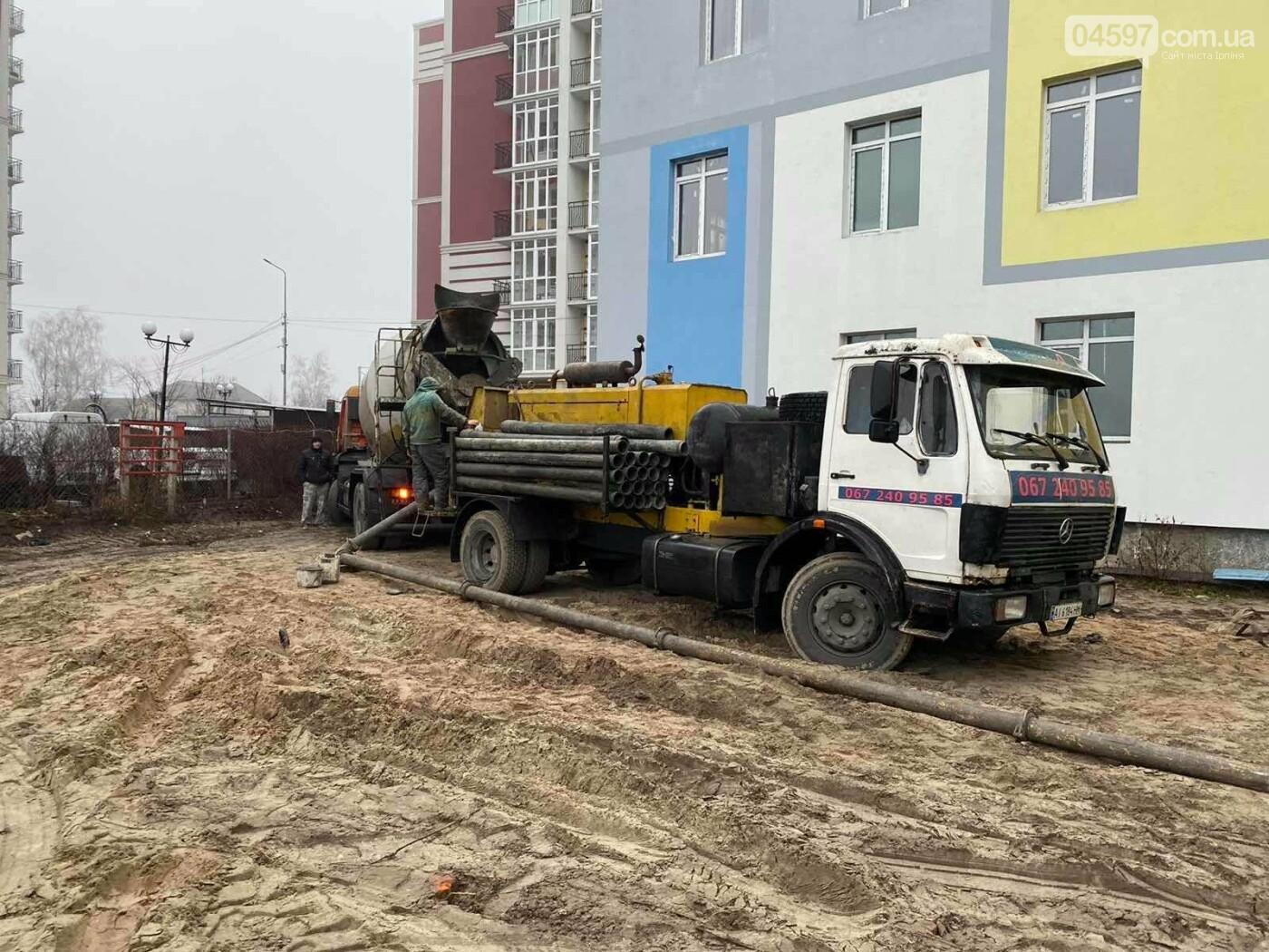 В Гостомелі активно будують садочок, фото-1