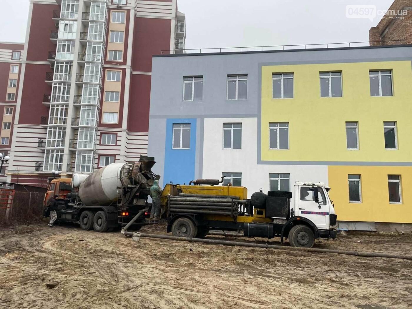 В Гостомелі активно будують садочок, фото-4