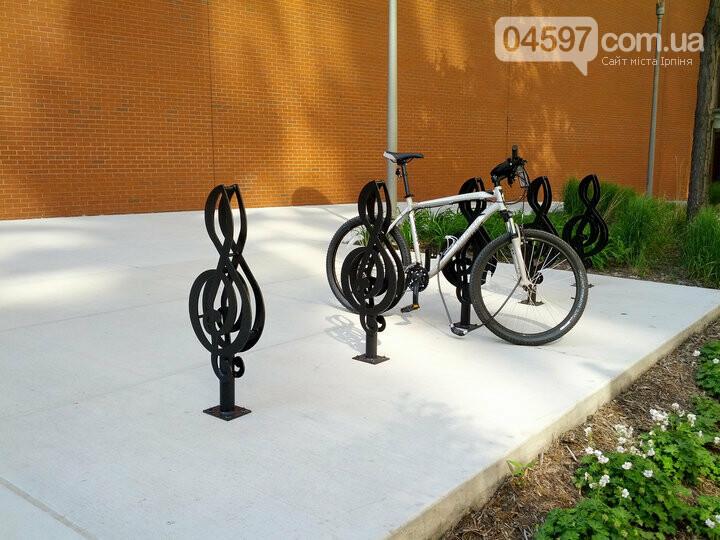 Ірпінчани хочуть стоянки для велосипедів та скутерів на залізничному вокзалі Ірпеня, фото-3