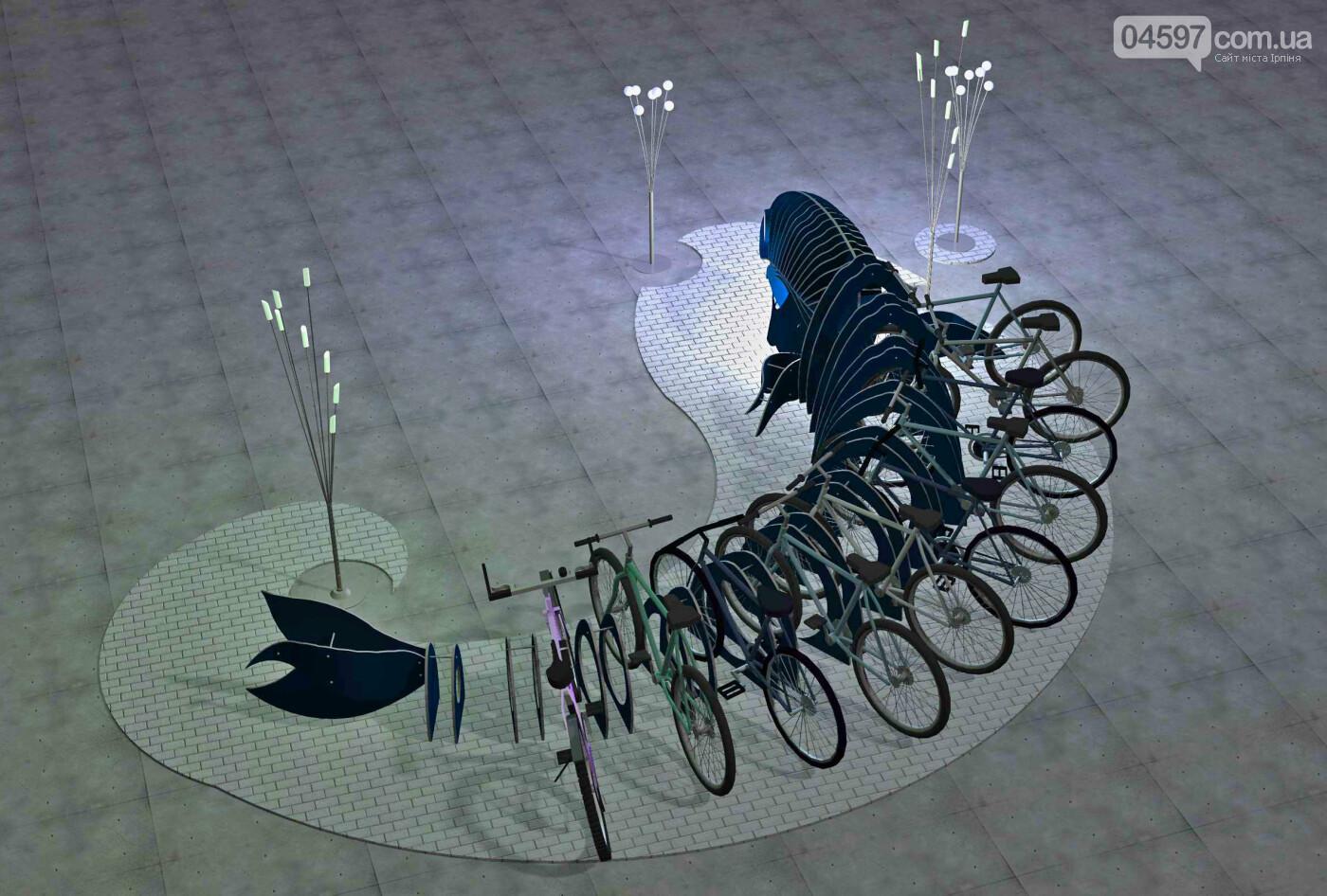 Ірпінчани хочуть стоянки для велосипедів та скутерів на залізничному вокзалі Ірпеня, фото-1