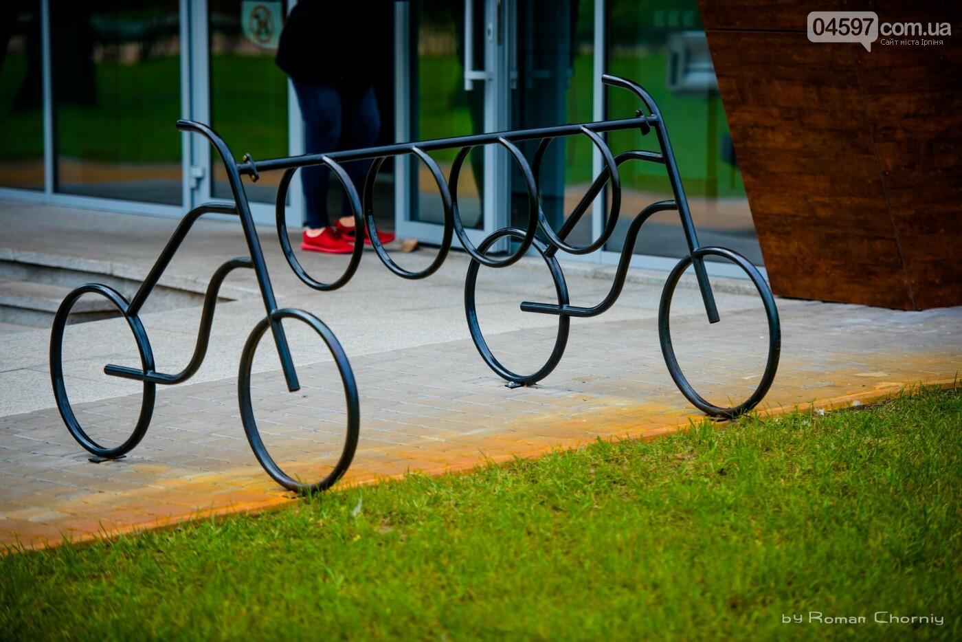 Ірпінчани хочуть стоянки для велосипедів та скутерів на залізничному вокзалі Ірпеня, фото-12
