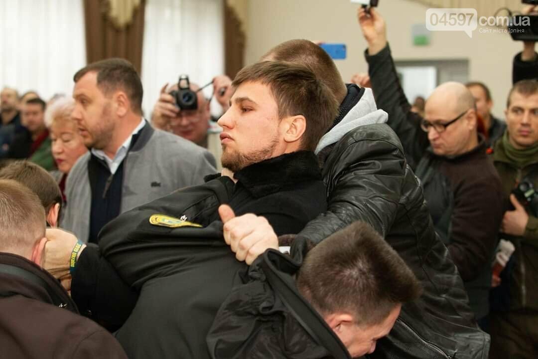 Істерика Михайлини і депутати-тітушки: в Ірпені зірвали сесію, фото-2