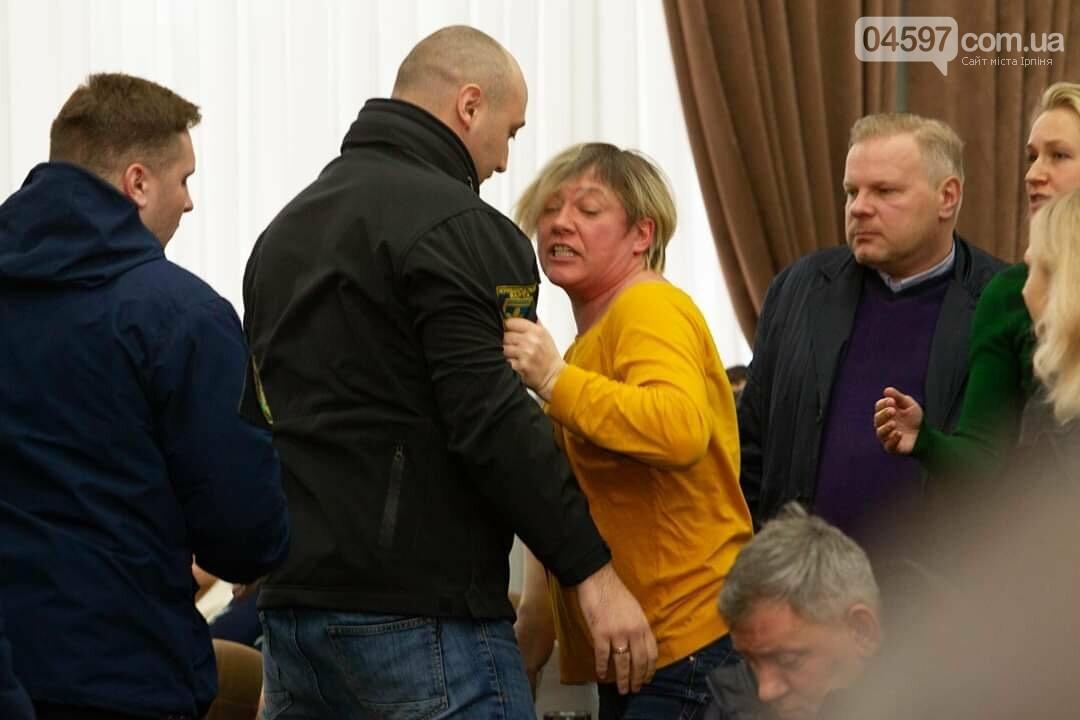 Істерика Михайлини і депутати-тітушки: в Ірпені зірвали сесію, фото-1