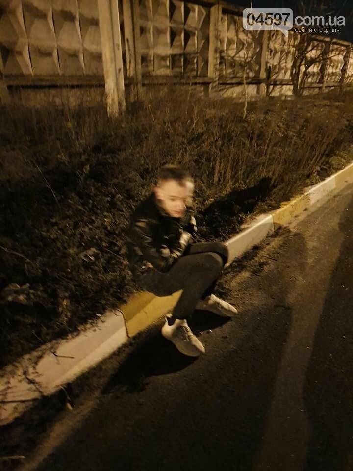 В Ірпені поляк ледь не замерз на вулиці, фото-1